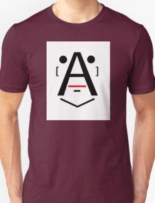 Letter Face_O Unisex T-Shirt
