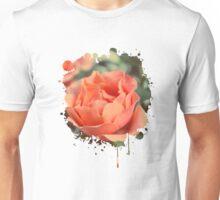 Secret Garden   Peach rose Unisex T-Shirt