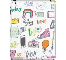 Fun Doodles II iPad Case/Skin