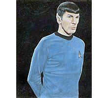 Spock Photographic Print