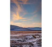 Sunset At Cottonball Basin Photographic Print