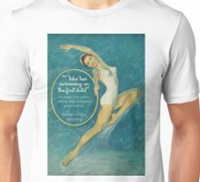 """""""Take her swimming on the first date!"""" Unisex T-Shirt"""