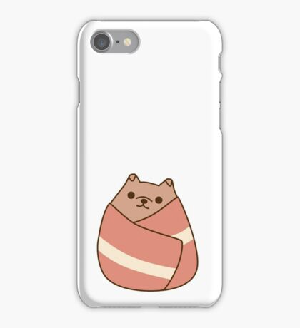 Pupsheen Wrapped in Bacon iPhone Case/Skin