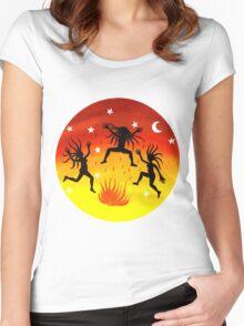 Dancing Wild! Women's Fitted Scoop T-Shirt