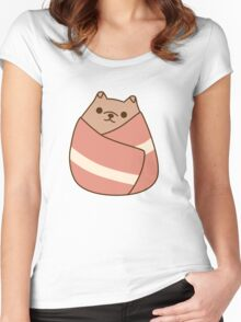 Pupsheen Wrapped in Bacon Women's Fitted Scoop T-Shirt