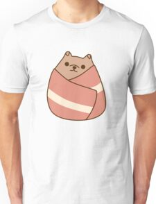 Pupsheen Wrapped in Bacon Unisex T-Shirt