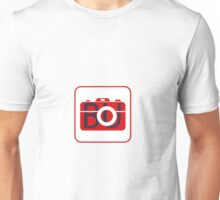 Red Photography Logo Unisex T-Shirt