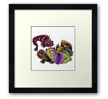 SARCASTIC FRINGEHEAD Framed Print
