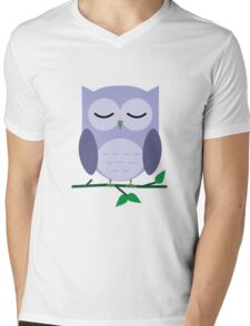 Owl be Sleeping Mens V-Neck T-Shirt