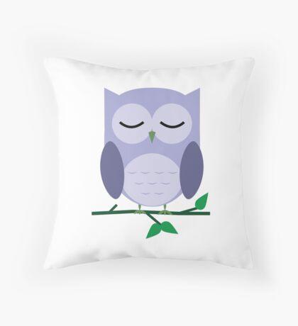 Owl be Sleeping Throw Pillow