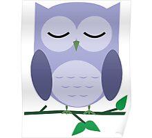 Owl be Sleeping Poster