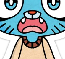 Chibi Gumball From The Amazing World Of Gumball Sticker