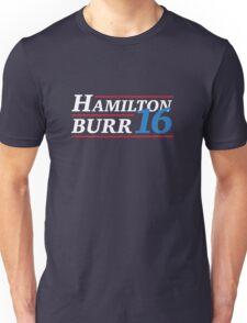 Election 2016 - Hamilton & Burr Unisex T-Shirt