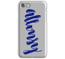 Allonsy iPhone Case/Skin