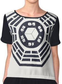 Lost Numbers Chiffon Top