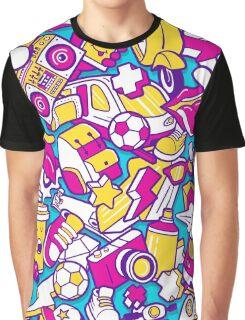 80's Retro Throwback Graphic T-Shirt