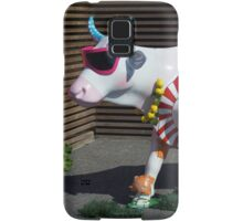 Painted Cow on Holiday - at Floriade Samsung Galaxy Case/Skin