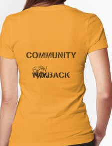 Misfits - Community Blowback Womens Fitted T-Shirt