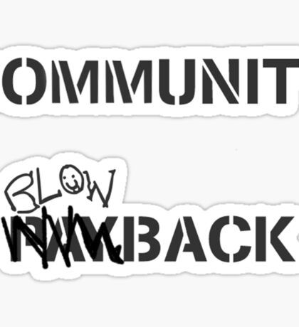 Misfits - Community Blowback Sticker