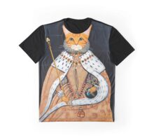 The Coronation - Elizabethan Cat Graphic T-Shirt