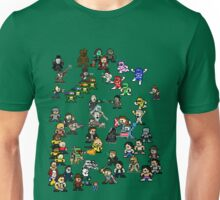 Epic 8-Bit Battle! (Classic Movie/TvShow Character) Unisex T-Shirt