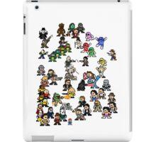 Epic 8-Bit Battle! (Classic Movie/TvShow Character) iPad Case/Skin