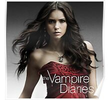 Nina Dobrev The Vampire Diaries Poster