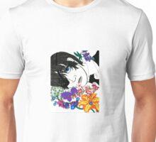 Ciel Phantomhive in Flowers Unisex T-Shirt