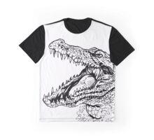 CROCODILE SAYS HEY Graphic T-Shirt
