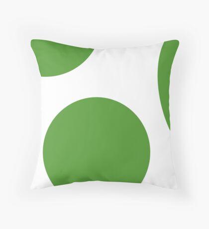 Yoshi Egg Throw Pillow