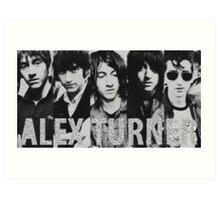 Alex Turner evolution Art Print