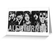 Alex Turner evolution Greeting Card