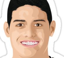 James Rodriguez Sticker