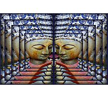 Multi Layer Buddha Photographic Print
