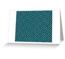 Marina Mermaid Fish Scales Greeting Card