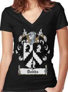 Dobbs Women's Fitted V-Neck T-Shirt