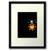 """Game of Thrones - Khal Drogo """"My Sun and Stars"""" Framed Print"""