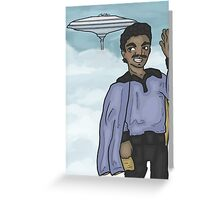 Lando in the Clouds (no quote) Greeting Card
