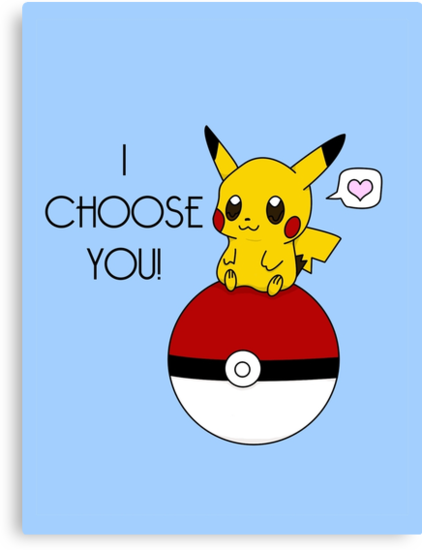Pokemon Pikachu Valentine's Day Design! (Blue) by charsheee