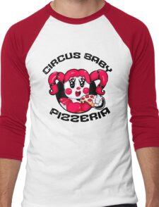 Circus Baby Pizzeria Men's Baseball ¾ T-Shirt