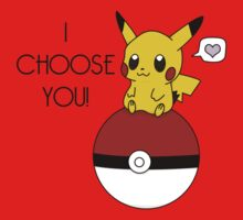 Pokemon Pikachu Valentine's Day Design! (Shirts and Apparel) Kids Clothes