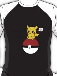Pokemon Pikachu Valentine's Day Design! (Shirts and Apparel) T-Shirt
