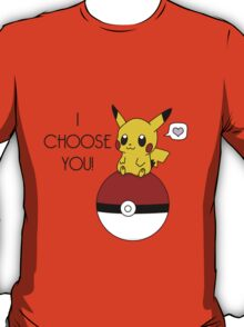Pokemon Pikachu Valentine's Day Design! (Shirts and Apparel) T-Shirt