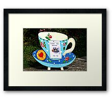 Coffee, Tea and Biscuits........... Framed Print