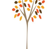Autumn Tree Sticker