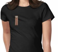 Lotus VII: sense doors Womens Fitted T-Shirt