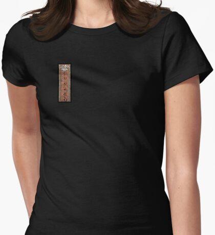Lotus VII: sense doors Womens Fitted T-Shirt