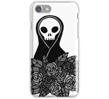 Reaper Bouquet ~ Grey scale iPhone Case/Skin