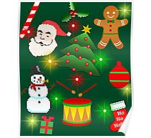 Merry Christmas - Merry Ugly Christmas Sweater Poster
