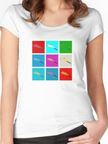 Paper Airplane 22 Women's Fitted Scoop T-Shirt